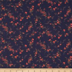 From the world famous Liberty Of London, this exquisite cotton lawn fabric is finely woven, light weight and ultra soft. This gorgeous fabric is oh so perfect for flirty blouses, dresses, lingerie, tunics, tops and more. Colors include coral orange, red, brown and an indigo purple background.