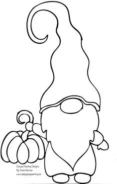 Painting Templates, Rock Painting Patterns, Fall Coloring Pages, Pattern Coloring Pages, Free Christmas Printables, Christmas Templates, Christmas Gnome, Christmas Crafts, Gnome Paint