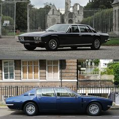 Monteverdi or ISO Rivolta 4 door, both Chrysler - hard choice. Maybach, Classic Italian, Car In The World, Exotic Cars, Luxury Cars, Vintage Cars, Cool Cars, Dream Cars, Classic Cars