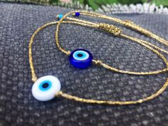 Excited to share the latest addition to my #etsy shop: Gold Evil eye bracelet Gold string bracelet Minimalist bracelet Adjustable bracelet Evil eye jewelry Protection bracelet Greek jewelry Gift #gold #birthday #christmas #evileye #yes #women #glass #tie #minimalist Evil Eye Jewelry, Evil Eye Necklace, Evil Eye Bracelet, Star Jewelry, Cute Jewelry, Jewelry Gifts, Handmade Jewelry, Unique Jewelry, Kids Bracelets