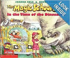 The Magic School Bus in the Time of the Dinosaurs: Joanna Cole, Bruce Degen: 9780590446891: Amazon.com: Books