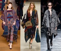 10 Fall 2014 Fashion Trends to Know | ponchos & blanket coats