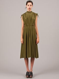 Olive Dulcet Dress by Rachel Comey