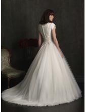 Robe de mariée Princesse dentelle et de tulle Cap manches naturel taille 2013