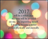 2017 Will Be My Year