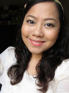 Fresh spring makeup