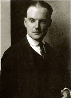 Edmund Wilson, 1920s. Writer and Critic that was friends with F. Scott Fitzgerald at Princeton University