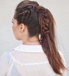 25 Gorgeous Rope Twist Styles With Braids — So Easy, So Elegant! Check more at http://hairstylezz.com/best-rope-twist-braids/