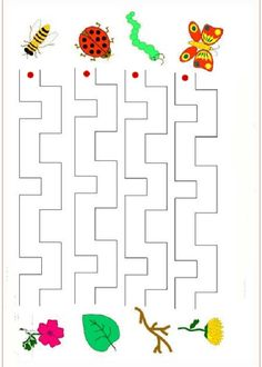 English Worksheets For Kindergarten, Free Worksheets For Kids, Mazes For Kids, Kindergarten Worksheets, Eyfs Activities, Writing Activities, Activities For Kids, Disney Coloring Sheets, Test For Kids