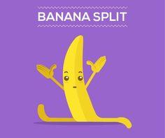 Banana split - Happy drawings :)
