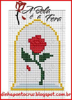 New Crochet Bookmark Disney Stitch Patterns 63 Ideas Beading Patterns, Embroidery Patterns, Loom Beading, Rose Patterns, Crochet Bookmark Pattern, Crochet Bookmarks, Pixel Art, Cross Stitching, Embroidery Stitches