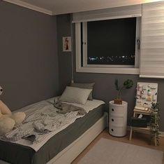 Trendy home cozy decor dorm room Ideas Room Design Bedroom, Room Ideas Bedroom, Home Room Design, Small Room Bedroom, Home Bedroom, Bedroom Decor, Bedrooms, Decor Room, Minimalist Room