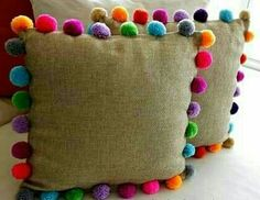 Trends: Pom pom - Me (Lele) and the Children - DIY Home Crafts, Diy And Crafts, Crafts For Kids, Arts And Crafts, Preschool Crafts, Sewing Projects, Craft Projects, Diy Y Manualidades, Pom Pom Crafts