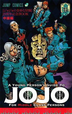 HighlandValley — itsunderes: A Young Person's Guide To Jojo For. Jojo's Adventure, Jojo Bizzare Adventure, Manga Anime, Manga Art, Bizarre Art, Jojo Bizarre, Jojo Anime, Jojo Memes, Manga Covers