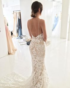 Once again our THALIA gown has got us picking our jaws up off the floor. That low scoop back? Those thin straps! We love love love all the lace details. ✨ What do you think ... who wants to be a 2018 If you have any questions about our gowns e-mail our team at info or visit www.goddessbynature.com to view our bridal collections or book a fitting in our Brisbane studio or at our ️