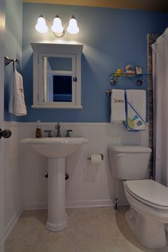 small bathroom ideas with beadboard for basement bath