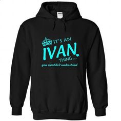 IVAN-the-awesome - #tee trinken #sweater coat. MORE INFO => https://www.sunfrog.com/LifeStyle/IVAN-the-awesome-Black-Hoodie.html?68278