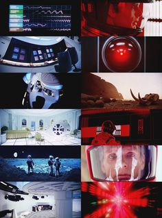 A montage of scenes from 2001: A Space Odyssey.  Pinned by a Taste Setter: http://www.thetastesetters.com