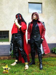 cosplay vincent y mi amigo genesis
