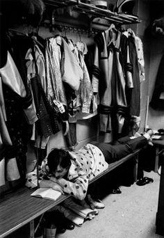 Credit: André Kertész/Stephen Bulger gallery Circus performer in dressing room, 1969