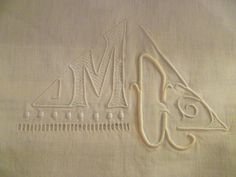French Metis Sheet Antique Double Bed Sheet by joiedefrance, £44.99
