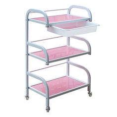 The sea beauty show three layer of paint with a drawer Trolley Cart cart Jiangsu Anhui car hairdressing tool bag mail