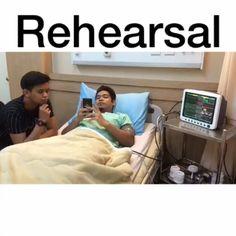 @Regrann from @zukieeeee -  Rehearsal with @jamaltetsu thanks to @hellostudio_my sbb bagi pinjam studio set hospital .. tag kawan korang .  #kasutterbang #kamiori #dubsmashindonesia #dubsmash #dubsmashmalaysian #dubsmashmalaysianterbaik #vinemalaysia #vine #dramapendek #komediri #silentcomedi #komedi #lawakhambar #lawak  #juaraparodi #astro #astrowarna #astrogempak #zonlawak #15second #lucu #gokil #jomblo #Regrann