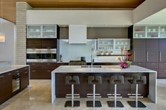 Great things would happen in this kitchen! contemporary kitchen by John Senhauser Architects