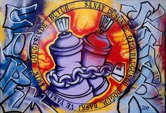 Teras Sergileri <40 sanatçılarından Ümit Turgay Durgun aynı zamanda bir grafiti sanatçısı. Görseldeki işini 2011 senesinde gerçekleştirmiş. YARIN 7 Ocak 2014 salı günü saat 11:00-17:00 arasında, sanatçı müzede bir performans sergileyecek: yeni sergimizin ismini müze içinde bir duvara grafiti olarak yazacak. İzlemek isteyenler / bu deneyimin bir parçası olmak isteyenleri bekleriz.