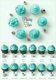 Ever wondered how pro bakers achieve all those pretty icing designs? Here's – Frisuren Frauen Ever wondered how pro bakers achieve all those pretty icing designs? Here's Ever wondered how pro bakers achieve all those pretty icing designs? Frost Cupcakes, Icing Cupcakes, Cupcake Frosting Tips, Cupcakes Design, Easter Cupcakes, Cupcake Icing Recipe, Rainbow Frosting, Diy Cupcake, Cookie Frosting