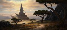 ArtStation - Tower of Oblivion, Piotr Dura