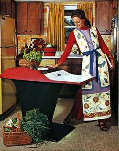 """In 1969 it was actually possible to buy a futuristic-looking kitchen computer in the Neiman Marcus Christmas catalogue. Called the Honeywell Kitchen Computer, the device was impossibly hard to use (it came with a two-week computer programming course). You had to enter data in the form of numbers, and it gave you answers in the form of blinking lights, which you had to learn how to """"read"""". It cost USD 10,000. Nobody bought one."""