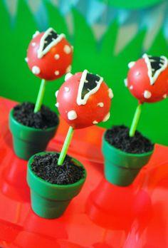kids super mario treats | Super Mario Fifth Birthday Party