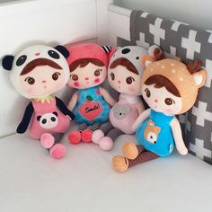 These gorgeous and fun 50cm Metoo dolls are sure to be a favourite for your little one.