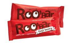 Roo'bar Goji berry! #raw #vegan gibts jetzt auch bei uns: https://www.veganpowerfood.ch/vegane-snacks/vegane-riegel/rohkost-riegel/66/roo-bar-goji-berry