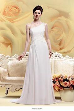 CW212 One Shoulder Wedding Gown | To Cherish Bridal | Bridal Gowns | To Cherish, Christchurch New Zealand