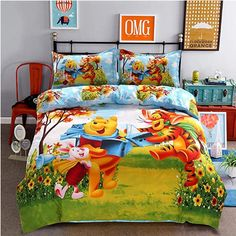 Disney Mickey Mouse Minnie Mouse Winnie Duvet Cover Set 3 or 4 Pieces Twin Single Size Bedding Set for Children Bedroom Decor. Twin or 1 m or Bed Size. Twin Size Bed Sets, Kids Twin Bedding Sets, Twin Size Bed Covers, Blue Bedding Sets, Queen Size Duvet Covers, Cheap Bedding Sets, Queen Bedding Sets, Bed Duvet Covers, Comforter Sets