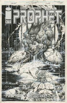 e52f248a6b4f PROPHET  8 COVER STEPHEN PLATT 1994 - W.B.