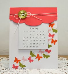 Kloset Kreations: 2013 Calendars