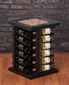 Top filled with corks