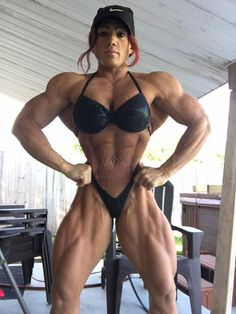 Big Muscle Women Porn
