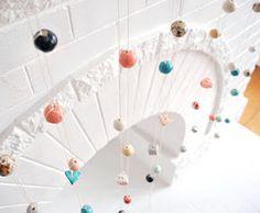 Ceramic bead garland