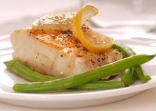 Broiled 5-7 mins - Cod Adobo  Ingredients:  2 tablespoons vegetable oil  2 tablespoons lemon juice  3/4 teaspoon paprika  3/4 teaspoon dried oregano  1/4 teaspoon ground cumin  1/4 teaspoon salt  1/8 teaspoon black pepper  4 cod fillets