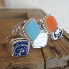Use broken dishes to make jewelry
