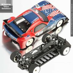SA088_Micro Cute Belt Driven Q2 1/18 EP RC 4WD Racing Car, Length: 262mm,Width: 120mm,Height: 71mm, Wheel base: 155mm - DIY USA Flag Bodyworks by: RCMANe CY Ning Micro Rc, Belt Drive, Usa Flag, Racing, Base, Diy, Build Your Own, Bricolage, Do It Yourself
