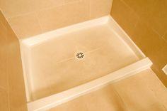 How to Repaint a Fiberglass Shower Pan