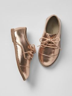 Metallic oxfords Pro