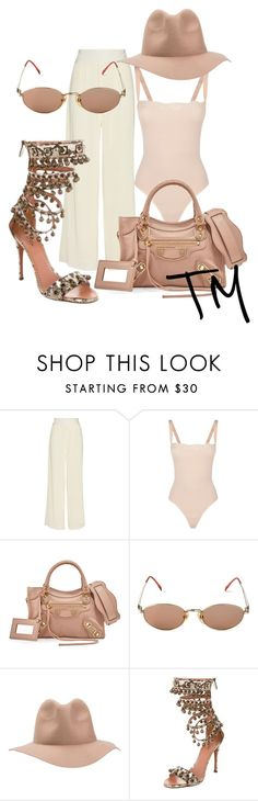 """""""Untitled #30"""" by taylorjmears ❤ liked on Polyvore featuring Thakoon, Wolford, Balenciaga, Jean-Paul Gaultier, RHYTHM and Alaïa"""
