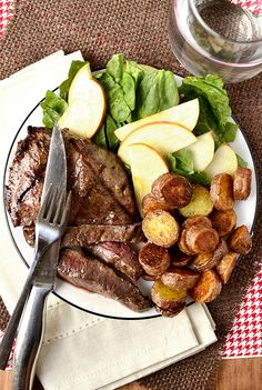 Dijon-Brown Sugar Marinated Steak is just three ingredients that add mouthwatering flavor to any cut of steak.