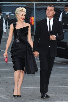 gwen and gavin black tie outfit